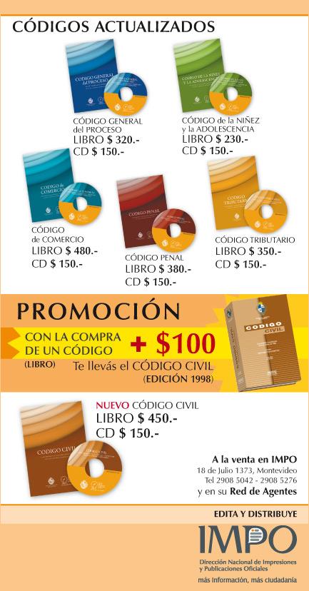 Comunicados 2010 2011 impo for Libro cuarto del codigo civil